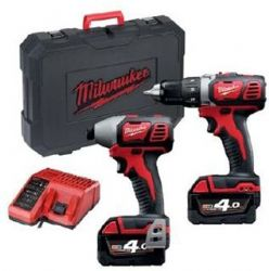 סט מברגות MILWAUKEE M18BID +M18 BDD